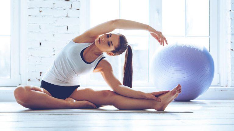 Melhora postural com o método Pilates