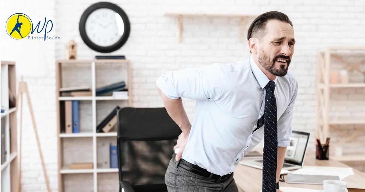 Dor na coluna: uma das lesões mais prevalentes durante o home office